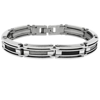 Stainless Steel Mens Link Bracelet