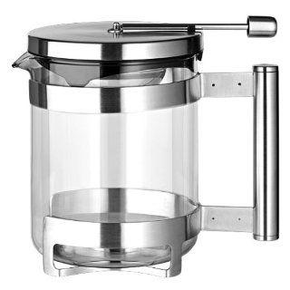 Tchibo Teekanne 1L aus Borosilikat Glas Küche & Haushalt