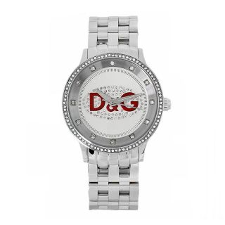 Dolce & Gabbana Womens Prime Time Silver Dial Watch
