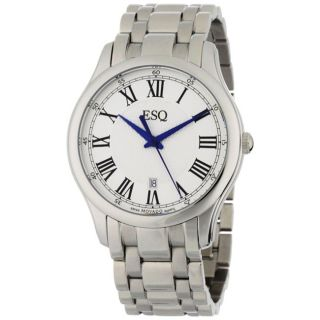 ESQ by Movado Mens Filmore Stainless Steel Roman Dial Watch