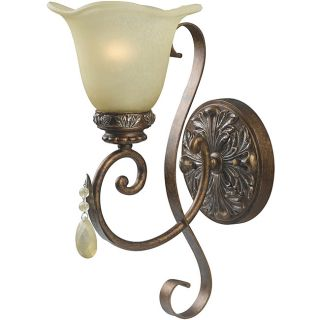World Imports Catania Collection Single Light Wall Sconce Today $88