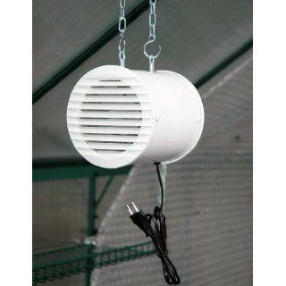 MacGreen Gewächshaus Ventilator (41 Watt  Gebläseleistung 320 m³/h
