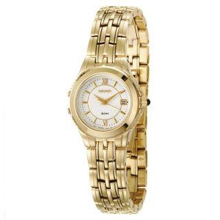 Seiko Womens Le Grand Sport Goldplated Steel Quartz Watch