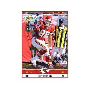 2005 Score #143 Tony Gonzalez Collectibles