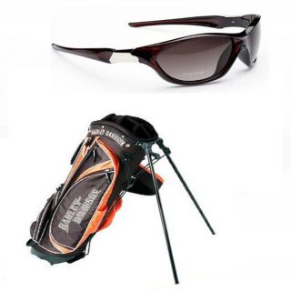 Harley Davidson/ Tour Vision Stand Bag and Sunglasses Combo