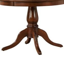 Calais Mahogany Round Dining Table