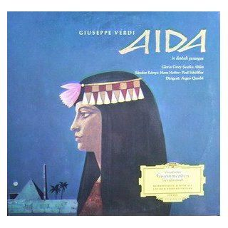 Verdi: Aida (Querschnitt in deutscher Sprache) [Vinyl LP