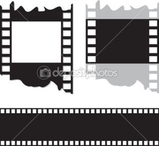 Film and photo tape  Stock Vector © Yana Gulyanovska #1435916