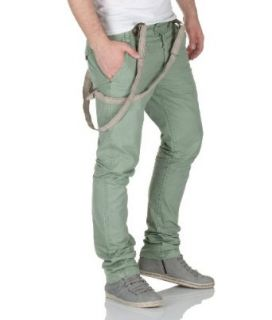 Urban Surface Herren Chino Hose mi Hosenräger by Eigh2Nine Jeans