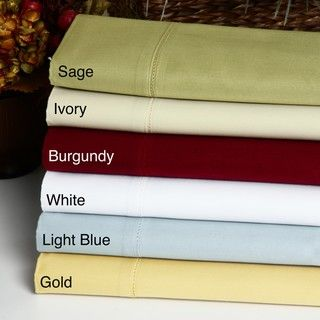 Egyptian Cotton Sateen 1000 Thread Count Pillowcases (Set of 2