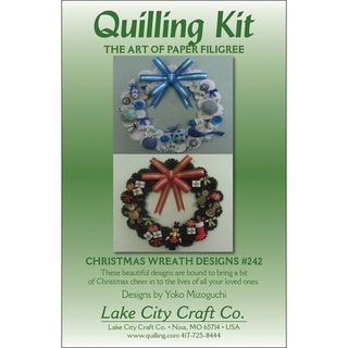 Quilling Kit Christmas Wreaths