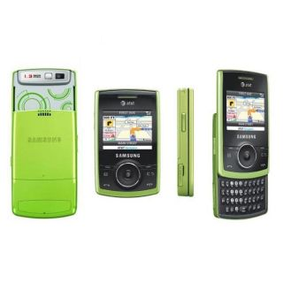 Samsung Propel A767 Green Unlocked Cell Phone (Refurbished