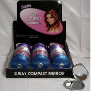 Way Compact Mirror W/ Counter Display Case Pack 144: Everything Else