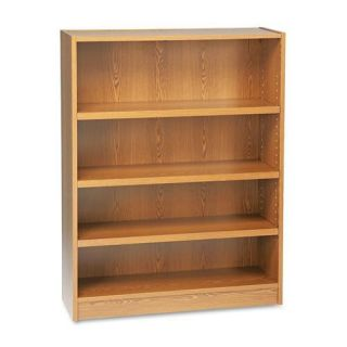 HON Heavy duty Signature Series 4 shelf Oak Bookcase