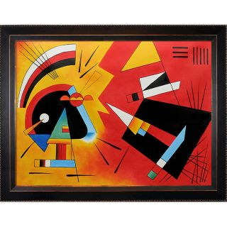Wassily Kandinsky Black and Violet, 1923 Framed Hand painted Canvas