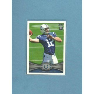 2012 Topps Rookie RC Andrew Luck  card # 140 Rare pull! Mint in one