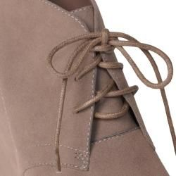 Hailey Jeans Co Womens Honey 2 Lace up Wedge Booties
