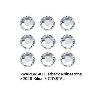 CRYSTAL CLEAR Rhinestones FlatBack 144 SWAROVSKI 20ss