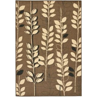 Indoor/ Outdoor Brown/ Black Rug (710 x 11)
