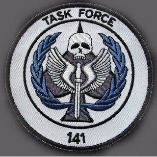 Duty Modern Warfare Task Force 141 Logo Embroidered PATCH (4 Inches