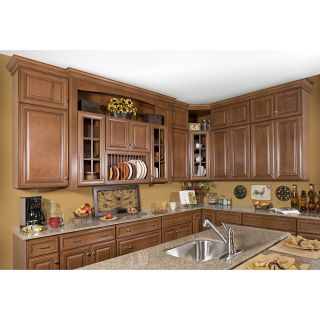 Honey Stain/Chocolate Glaze Wall Kitchen Cabinet (30x36) Today $484