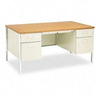 HON 34000 Series Steel Double Pedestal Desk