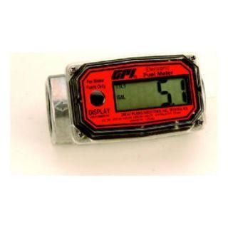 Great Plains Ind Inc 113255 1 Electronic Digital Fuel Meter