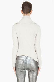 Helmut Pale Grey Soft Sweatshirt for women