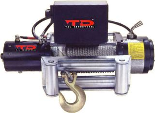 TD Industrial Heavy Duty Truck Winch (8500 lb. Rating)