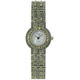 Jules Jurgensen Ladies Classical Steel Mother of Pearl Dial Watch