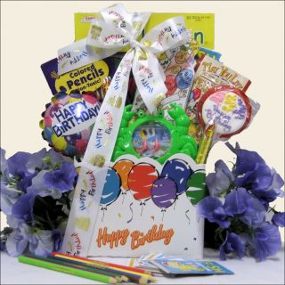 Happy Birthday Wishes: Kids Birthday Gift Basket Ages 6 to 8 Today: $