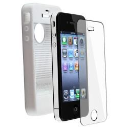 White Otterbox Case/ Headset for Apple iPhone 4 & 4S