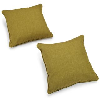 Blazing Needles Outdoor 20 inch Throw Pillows (Set of 2)