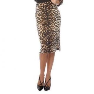 Voodoo Vixen Rock LEOPARD LADY SKIRT natural Bekleidung