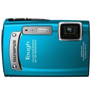Olympus TG 320 Tough 14MP Blue Digital Camera
