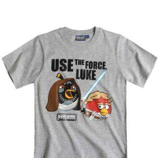Angry Birds   Star Wars Jungen T Shirt, hellgrau, verschiedene