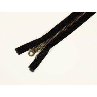 Reißverschluss, Metall antik, 3mm, schwarz, L:10cm: Küche
