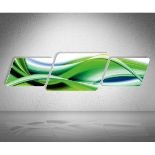 Kontur Wandbild   Jack Dyrell Flowing Green   Format 130x34cm   3