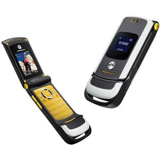 Motorola W450 Active Style Yellow GSM Cell Phone