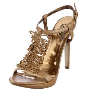 CARLOS by Carlos Santana Womens Hamptons Corda Platform Heels
