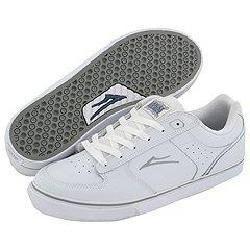 Lakai Koston Select White/Grey Leather