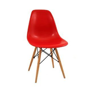eames dsr molded plastic side chair with wire base. Black Bedroom Furniture Sets. Home Design Ideas