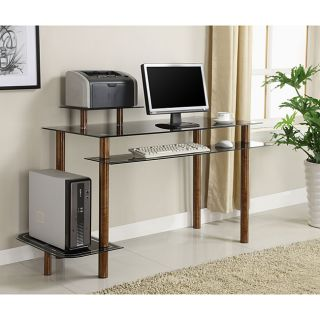 Innovex Glass Computer Desk with Bird Eye Finish Today $139.99 1.0 (1