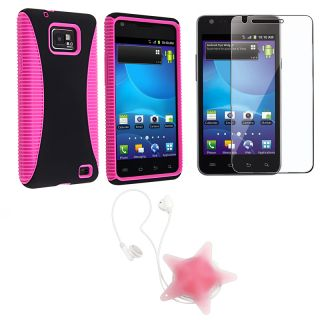 Case/ LCD Protector/ Star Wrap for Samsung Galaxy S II i777