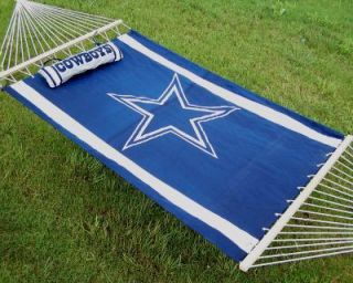 DALLAS COWBOYS NFL LOGO FULL SIZE HAMMOCK