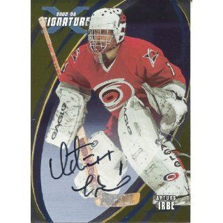 Irbe 2002 03 BAP Signature Series Autographs Gold #143 Collectibles