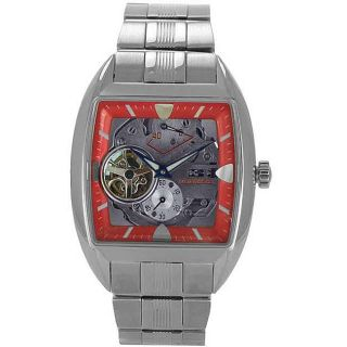 Orient Mens Automatic OrientStar Skeleton Dial Steel Watch