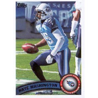 2011 Topps Football #148 Nate Washington NFL Trading Card