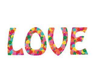 Flower Power Aufkleber LOVE Blumenmuster Blumen (Liebe   Peace