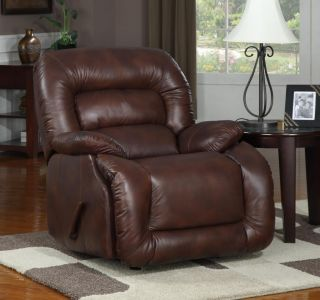New Creations American Casual Brown Contemporary Recliner